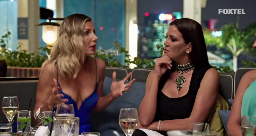AthenaX starts an argument - The Real Housewives of Sydney Episode 8 Recap Series 1 RHOS S01E08