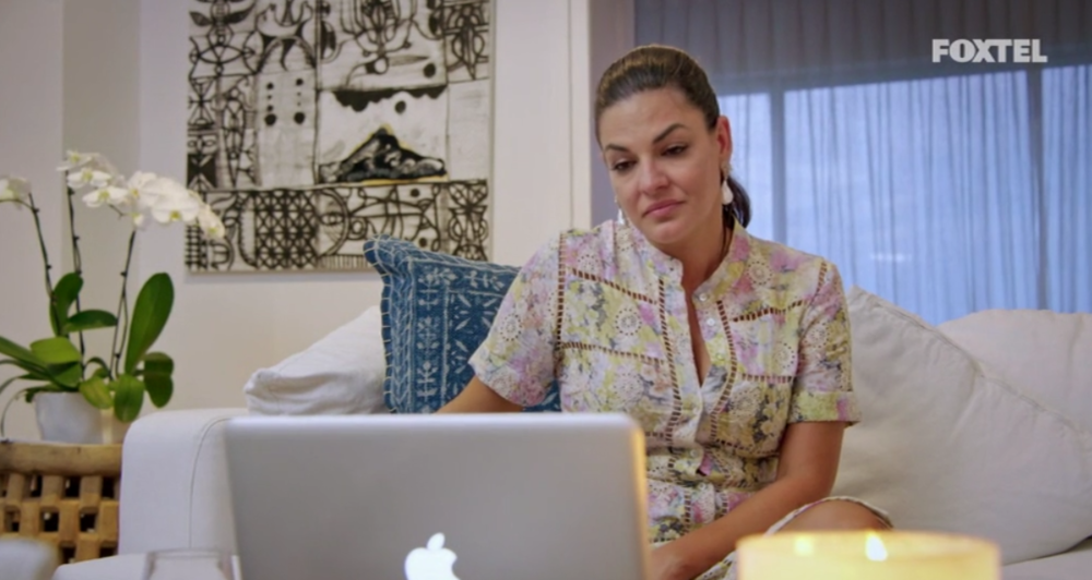 Nicole Video Chats with Adam - The Real Housewives of Sydney Episode 10 Recap Season 1