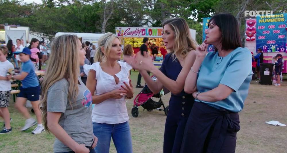 The girls at The Food Truck Fund Event - The Real Housewives of Sydney Episode 10 Recap Season 1