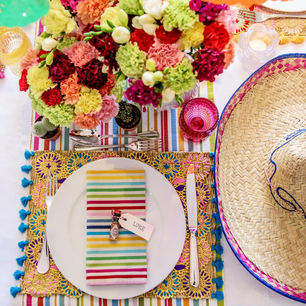 Cinco de Mayo Table Setting Inspiration and Ideas