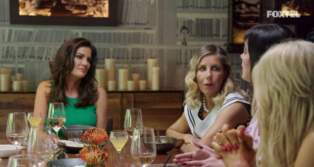 Lisa addresses her issues with Krissy - The Real Housewives of Sydney Episode 10 Recap Season 1