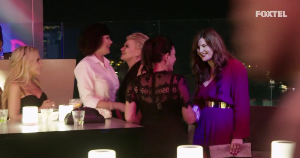 The girls meet Lucy for the first time - The Real Housewives of Sydney Episode 10 Recap Season 1