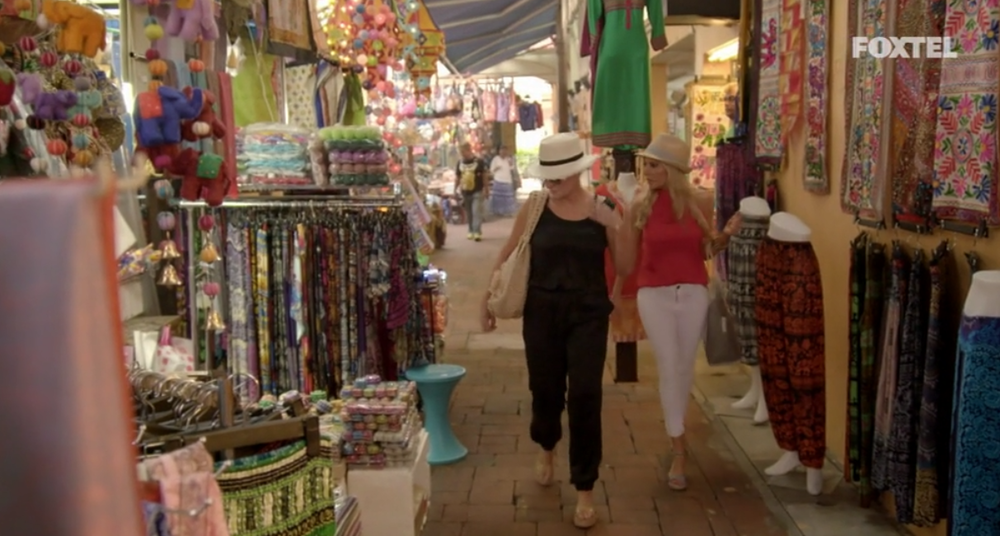 Melissa and Victoria go market shopping - The Real Housewives of Sydney Episode 10 Recap Season 1