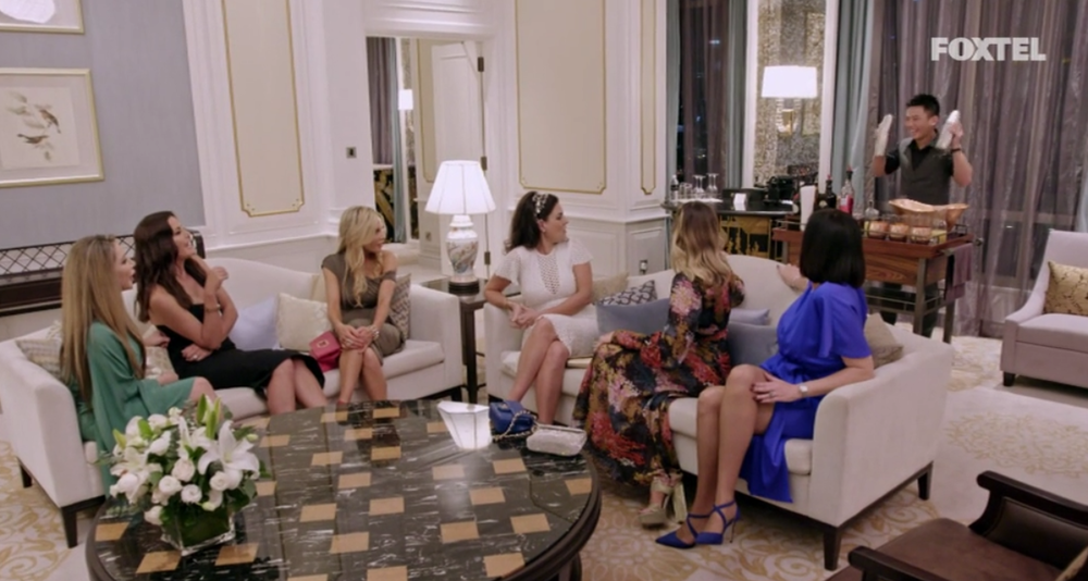 Girls meet for a Singapore Sling - The Real Housewives of Sydney Episode 10 Recap Season 1