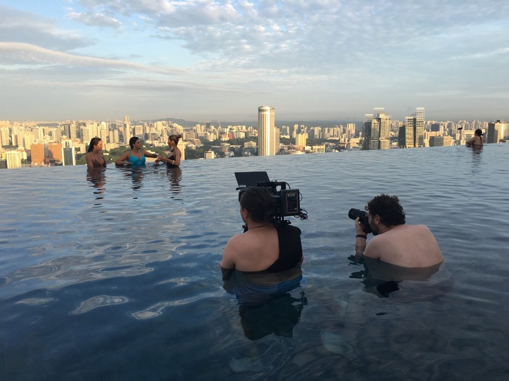 Behind the Scenes of The Real Housewives of Sydney - Shooting the Pool Scene (5).jpg