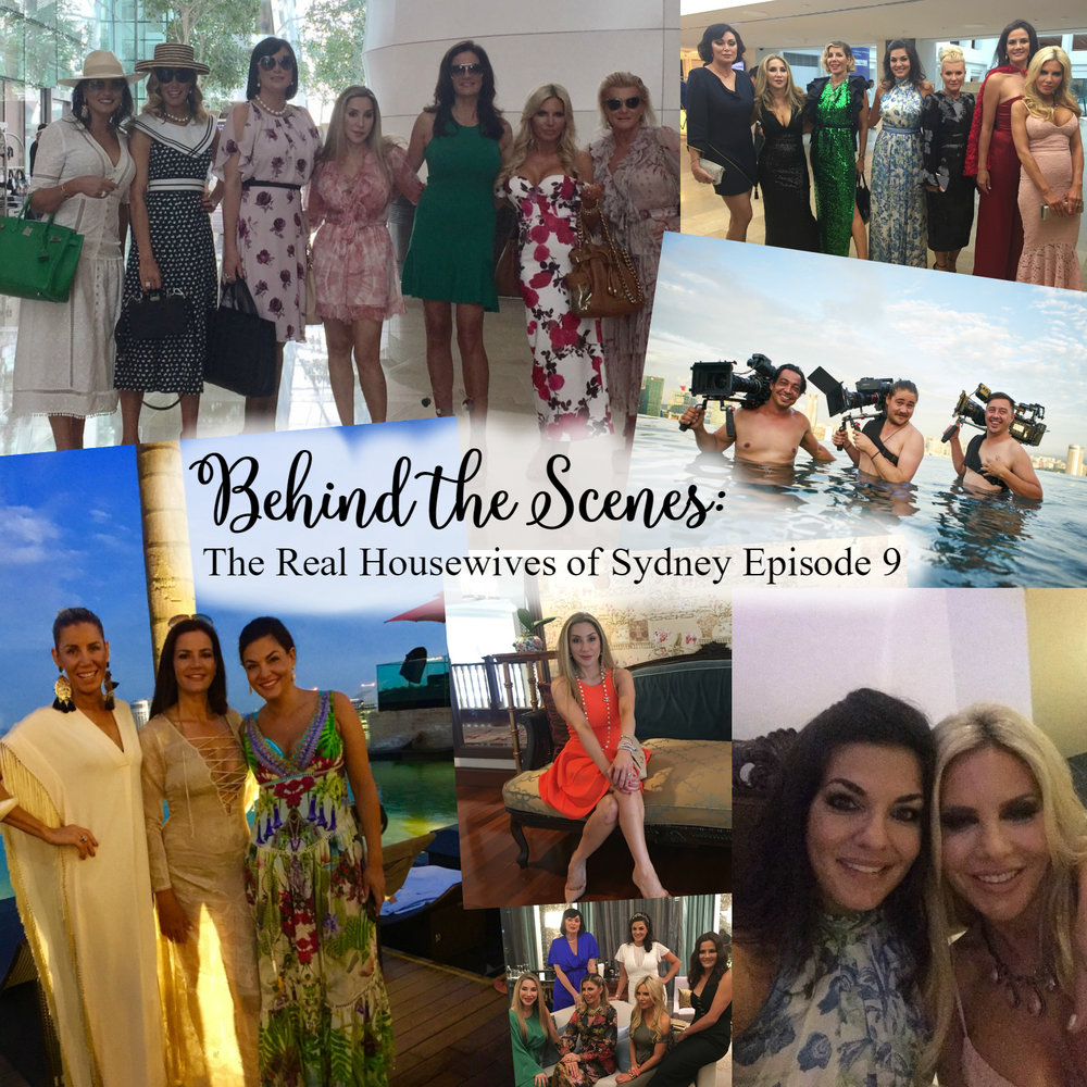 Find out what goes on behind the scenes of The Real Housewives of Sydney and get cast member, Nicole O'Neil's, exclusive behind the scenes photos from episode nine.