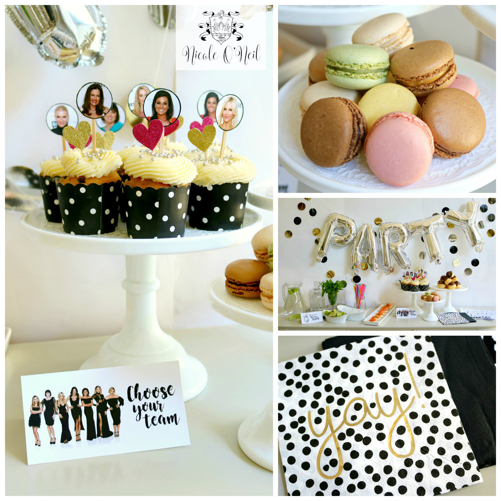 Sweet Treats - DIY Real Housewives of Sydney Reunion Party