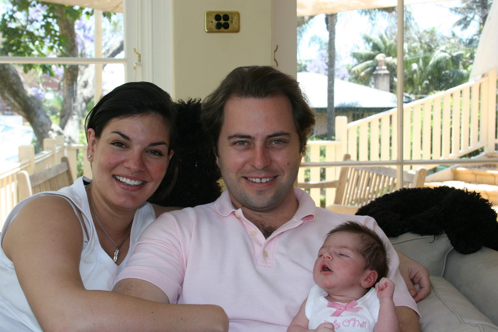 Nicole and Adam with Nawal, Bella and Baci