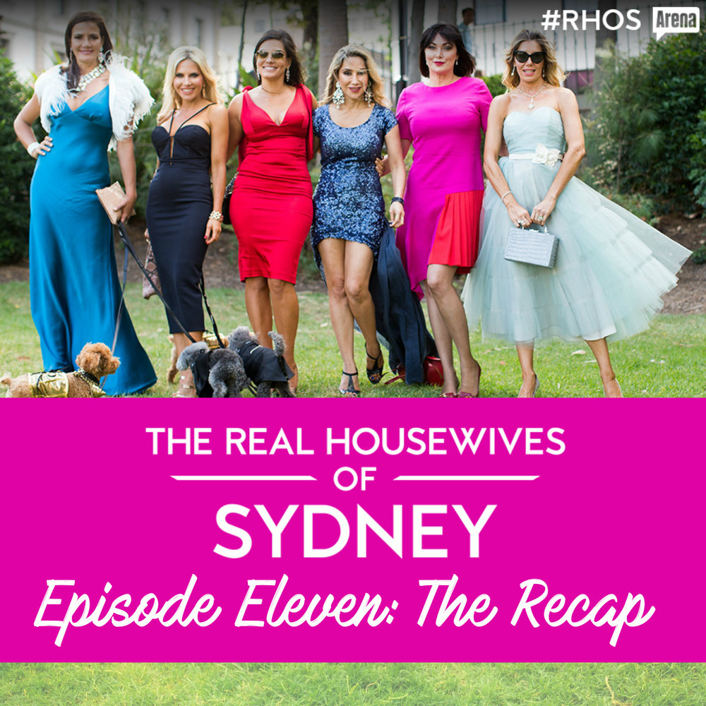 Find out what happened on The Real Housewives of Sydney Series 1 Episode 10 as housewife cast member Nicole O'Neil shares her recap and behind the scenes gossip from the season finale. From a dog and cat wedding to Breakfast at Levendi, an aerial yoga class and more!
