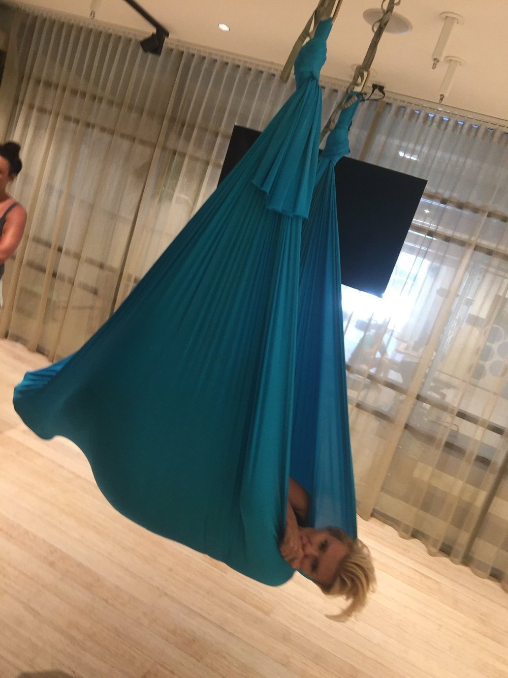 Aerial Yoga with Krissy and Victoria - Behind the Scenes of The Real Housewives of Sydney Episode 11 Season 1
