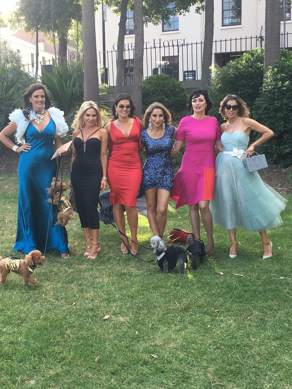The girls and puppies at the cat and dog wedding  - Behind the Scenes of The Real Housewives of Sydney Episode 11 Season 1.jpg