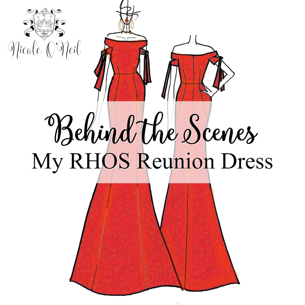 Get a Behind the Scenes look at the design and creation of Nicole O'Neil's reunion dress for The Real Housewives of Sydney. Made of Ra Ra Red Imported Italian Lace and designed by Rebecca Vallance, this dress would also make the perfect formal, prom, ballgown or bridesmaid dress.
