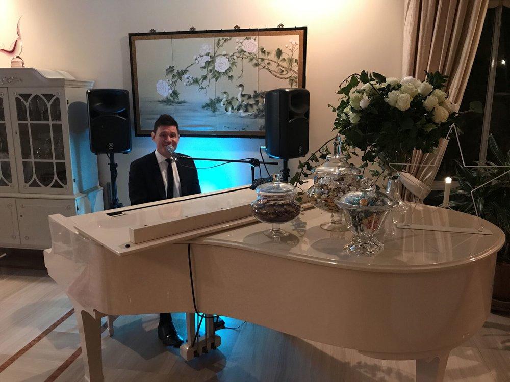 Twinkle Twinkle Little Star Themed Baby Shower - Piano Man