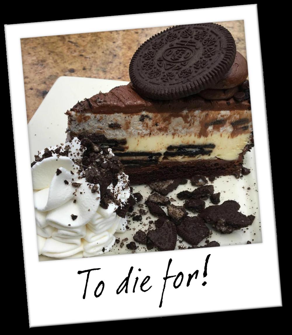 The Cheesecake Factory's Oreo Cheesecake - Oahu Hawaii Travel Guide