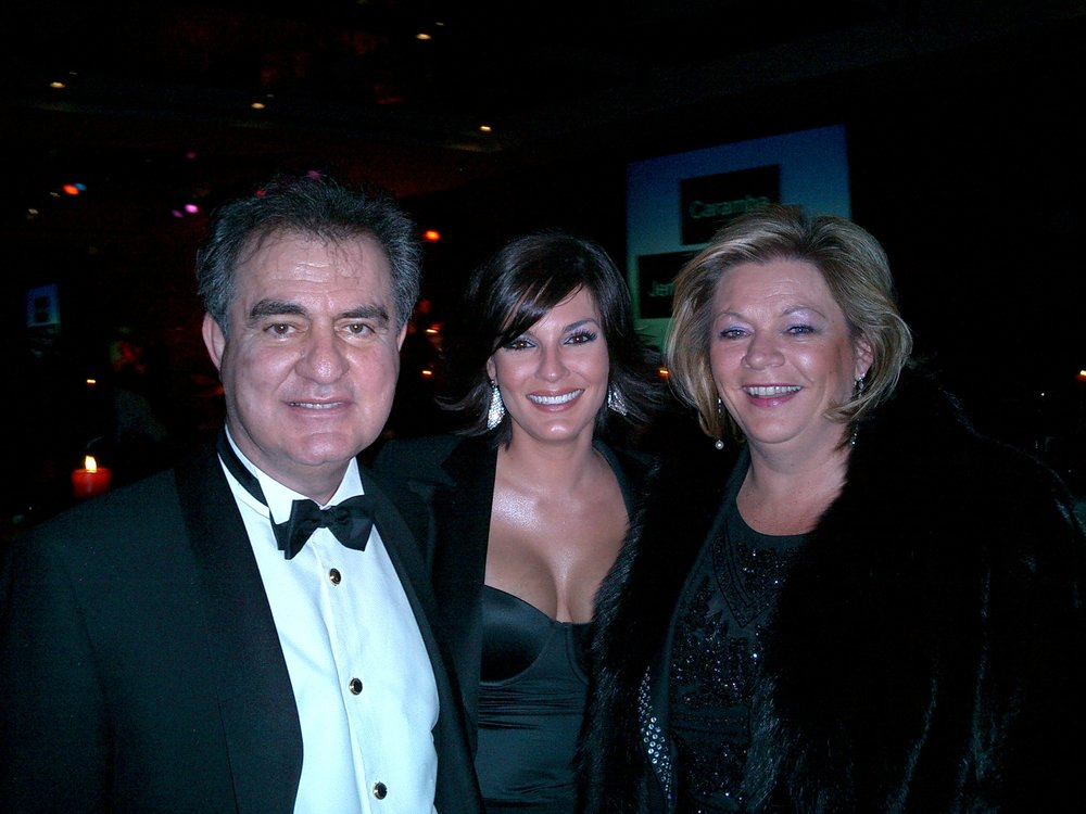 My Dad (Nabil), myself and my Mum (Maud)