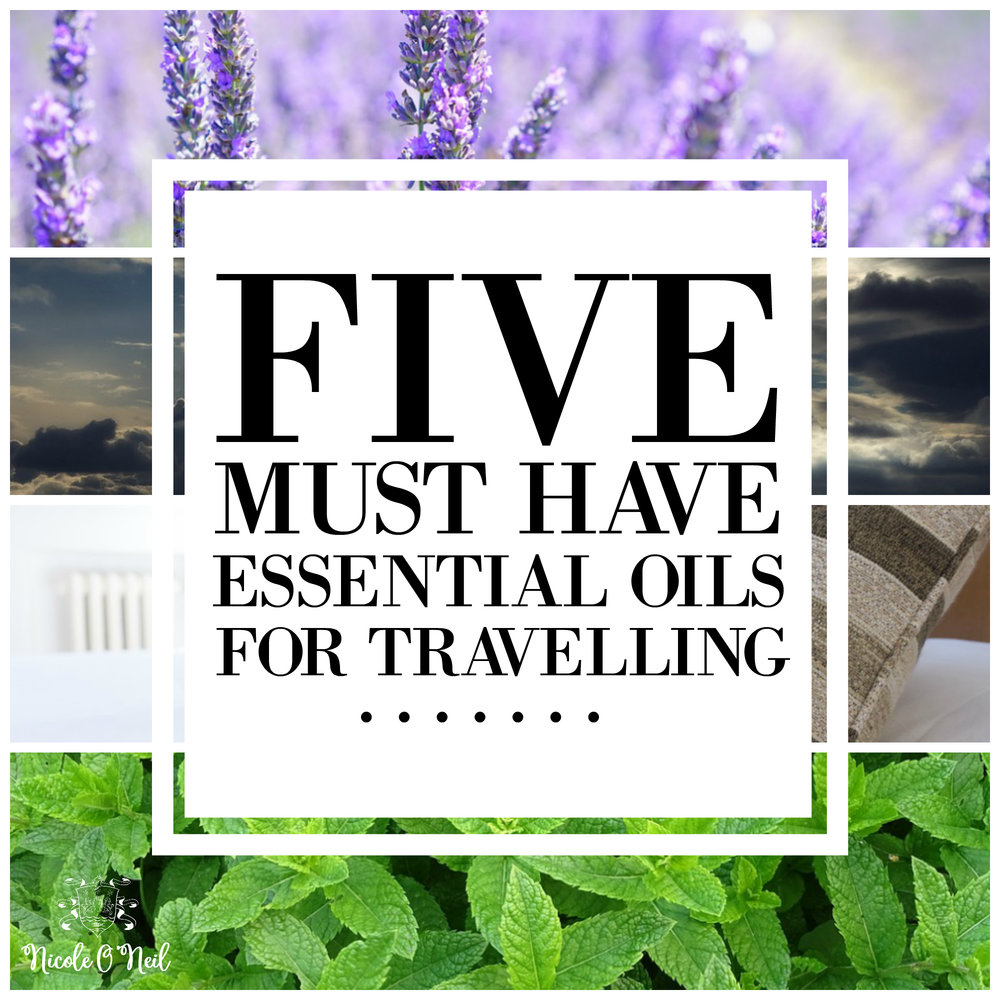 Five Must Have Essential Oils for Travelling