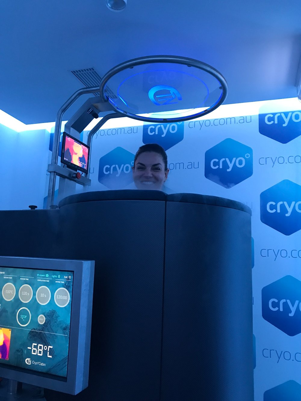 Nicole O'Neil at CRYO Edgecliff - What It's Like to Have a Cryotherapy Treatment