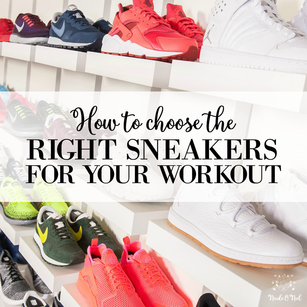 How to Choose the Right Sneakers For Your Workout