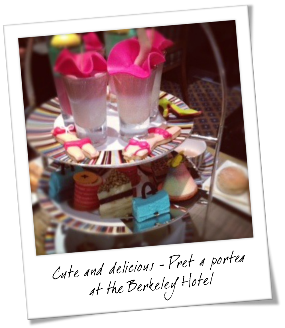 The Best High Tea in London - Pret a Portea at The Berkeley Hotel