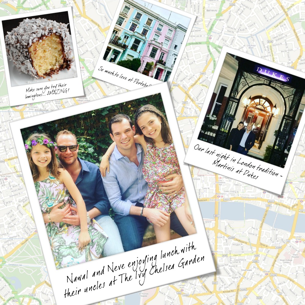 Nicole O'Neil's Complete Travel Guide to London England - Find out the best places to shop, eat and explore in London as The Real Housewives of Sydney's Nicole O'Neil shares her firsthand experiences and travel snaps in this London City Guide.