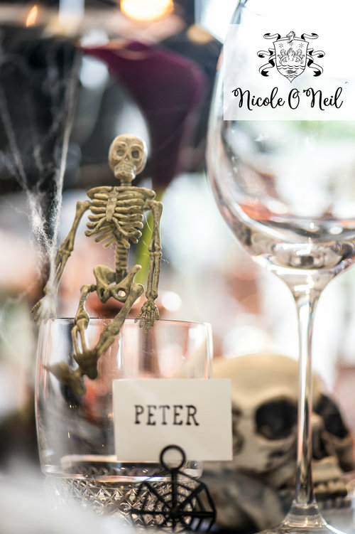 Be Inspired: Halloween Table Setting — Nicole O\'Neil - Real ...