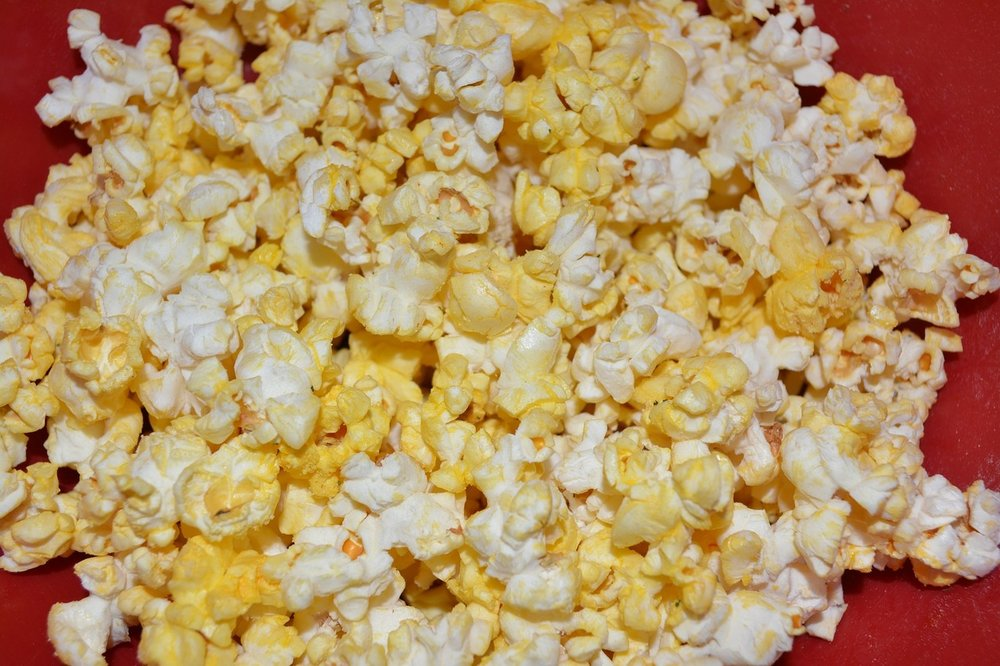 It's not a movie day without popcorn!