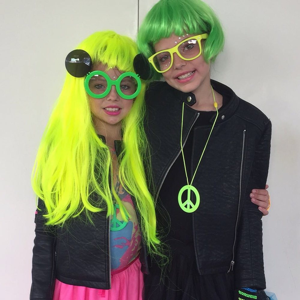 Neon Party Halloween Costume Ideas