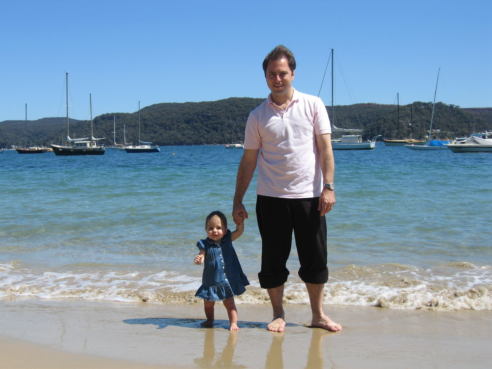 Adam and Nawal on Holidays.JPG