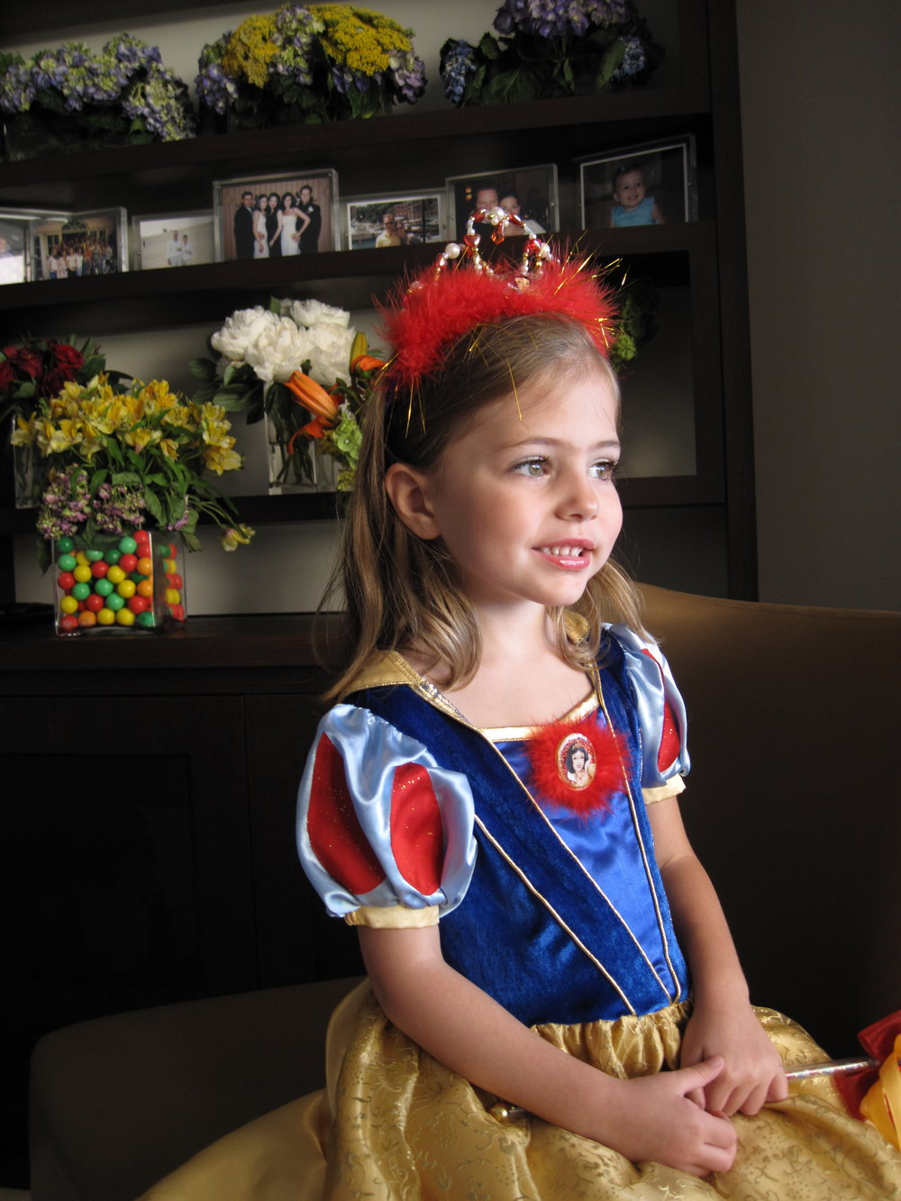 Nawal Dressed up as Snow White.JPG