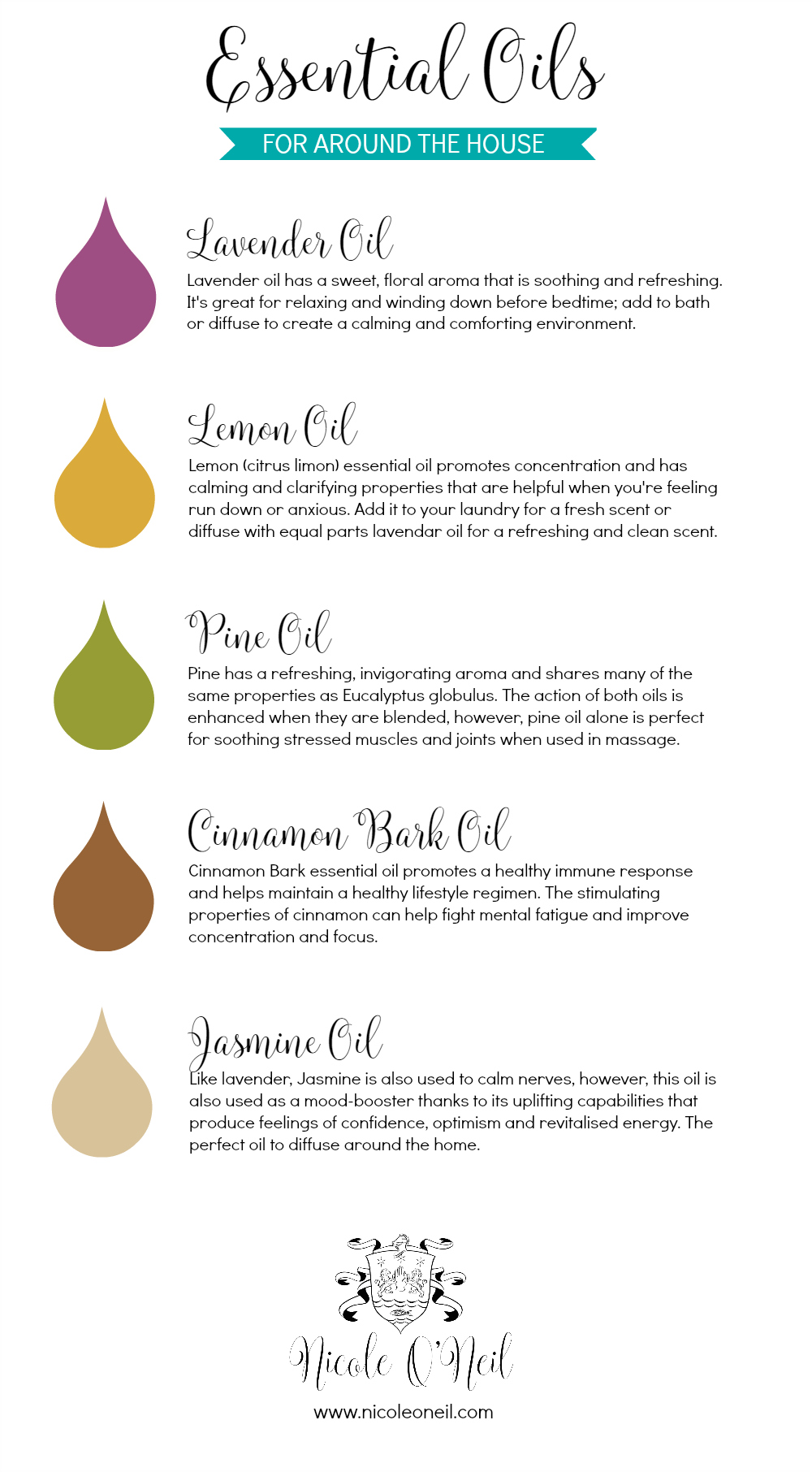 Essential Oils for Around the House - Nicole O'Neil .jpg