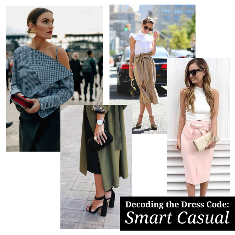 smart casual dress code spring