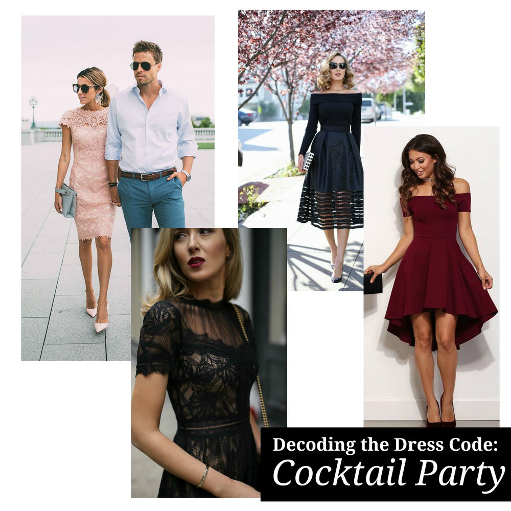 Decoding the Dress Code - What to Wear to a Cocktail Wedding or Event