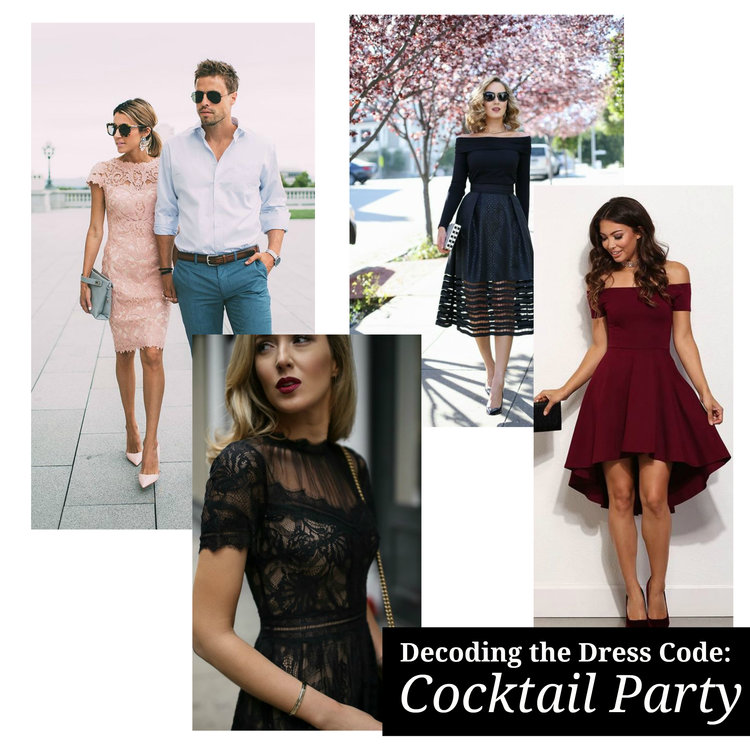 Decoding the Dress Code: What Should I Wear to a Cocktail Event ...
