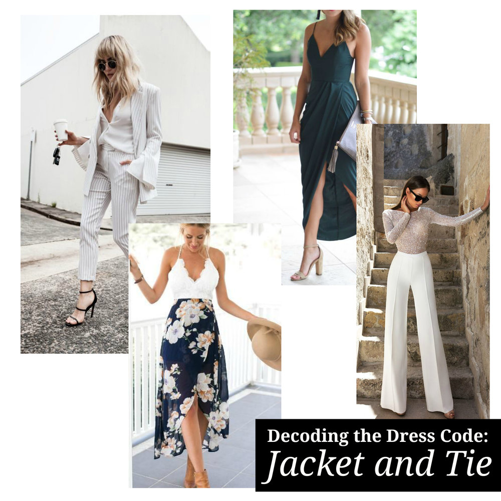 Decoding the Dress Code: What Should I Wear to a Jacket and Tie ...