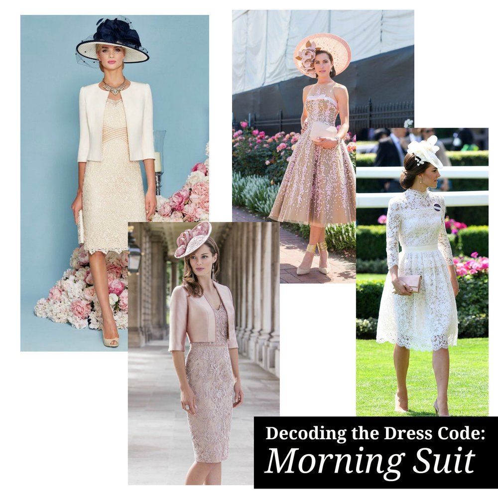 Decoding the Dress Code - What to Wear to a Morning Suit Dress Code Wedding or Event