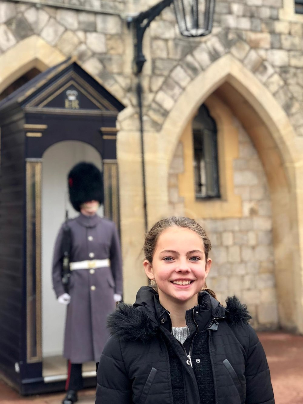 Neve with the Guards at Windsor Castle.jpg