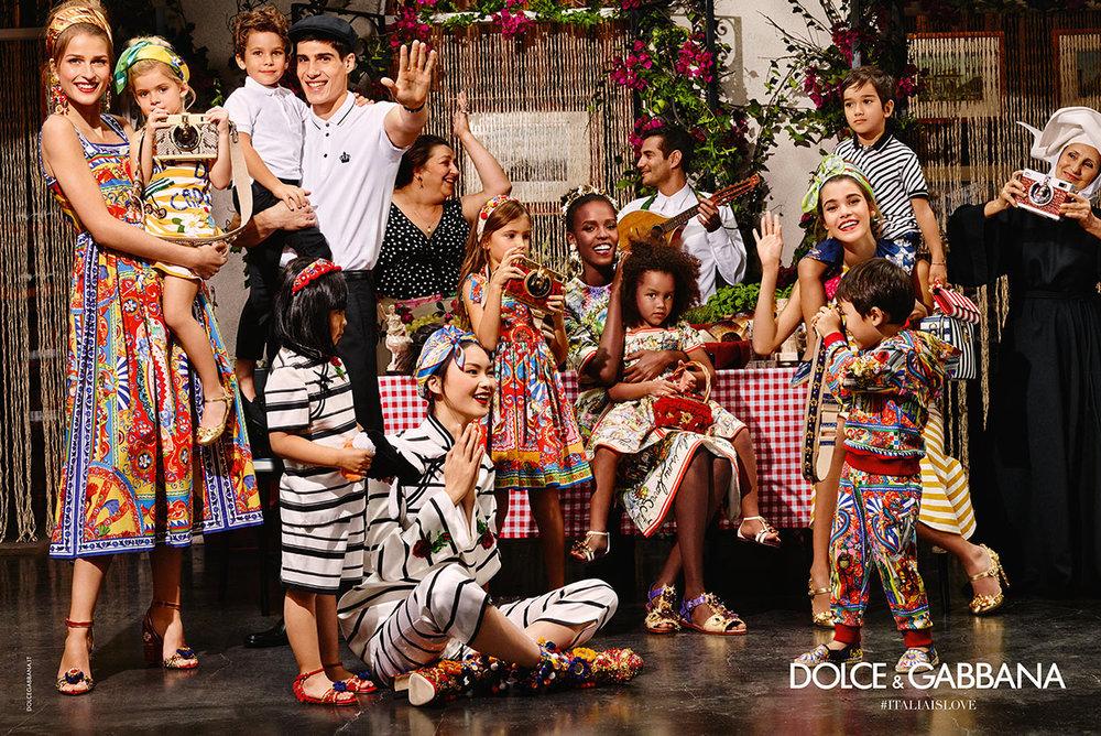 Dolce and Gabbana 2016 Carretto Siciliano Inspired Photo Shoot - Nicole O'Neil