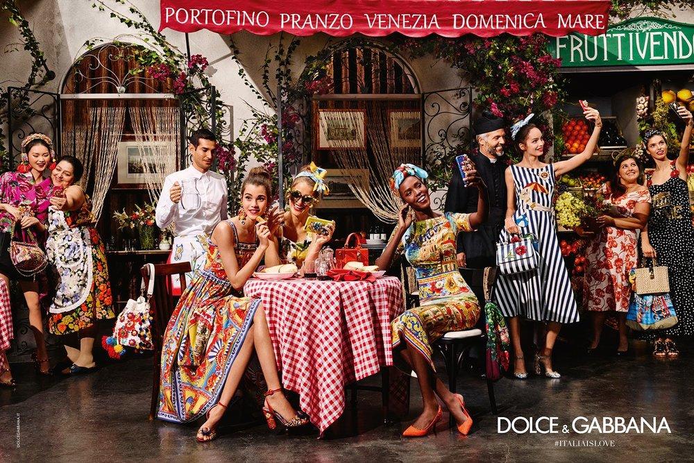 Dolce and Gabbana 2016 Carretto Siciliano Inspired Photo Shoot