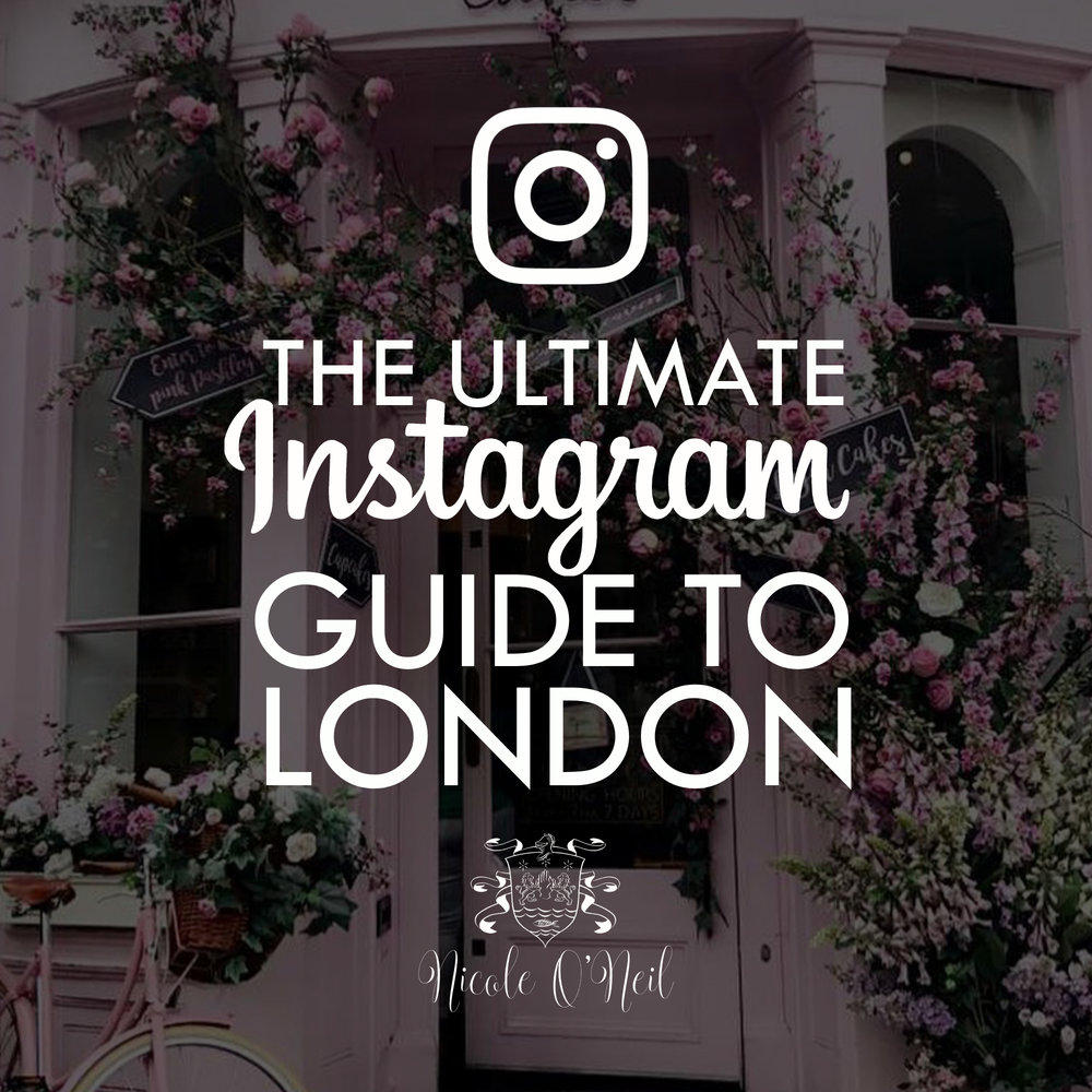 The Ultimate Instagrammers Guide to London - The Best Places for Photos in London