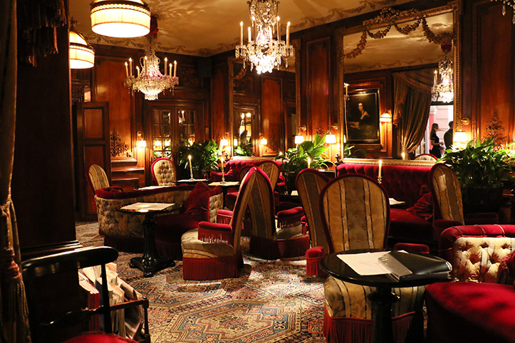 24 Hours in Paris - Dinner at Hotel Costes
