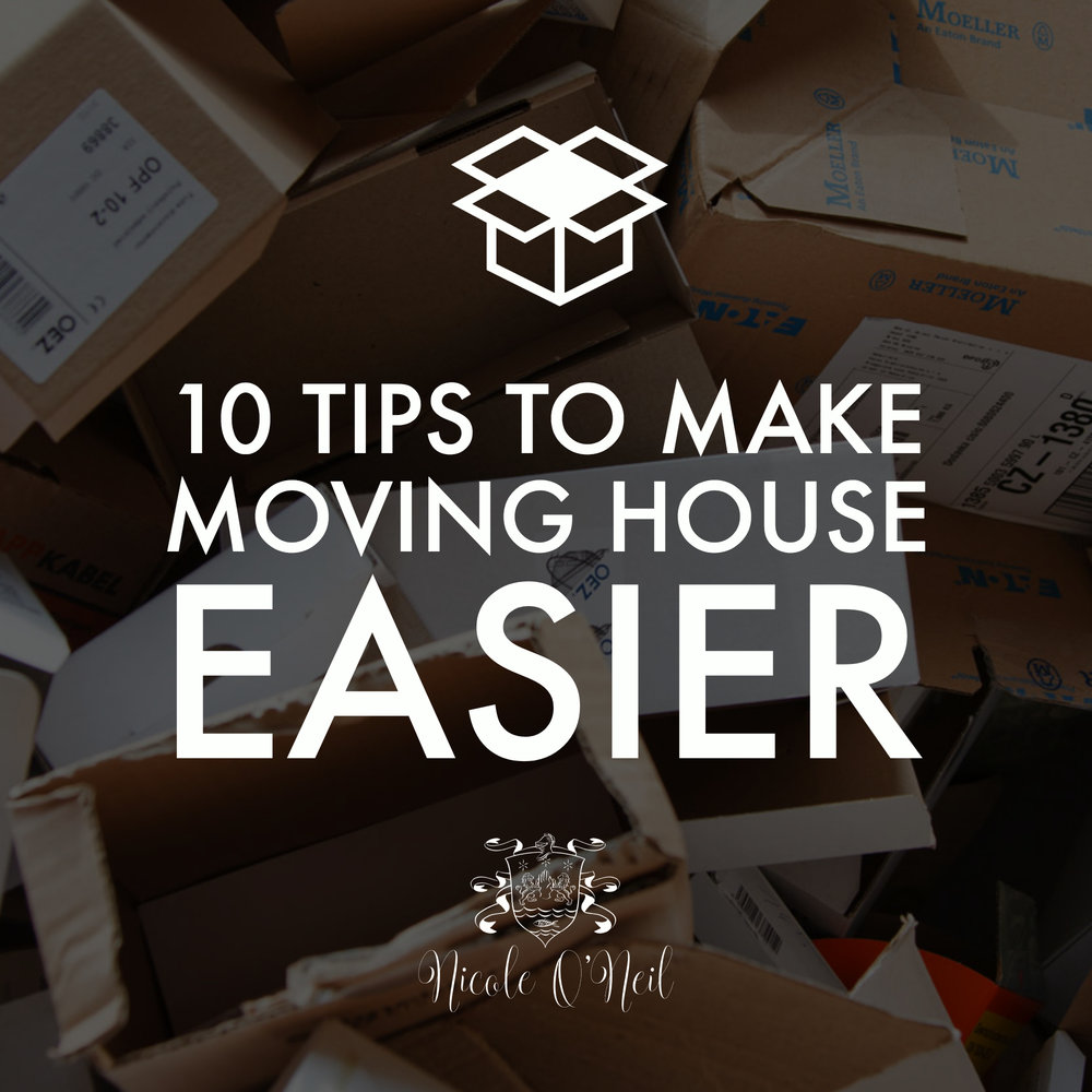 10 Tips to Make Moving House Easier