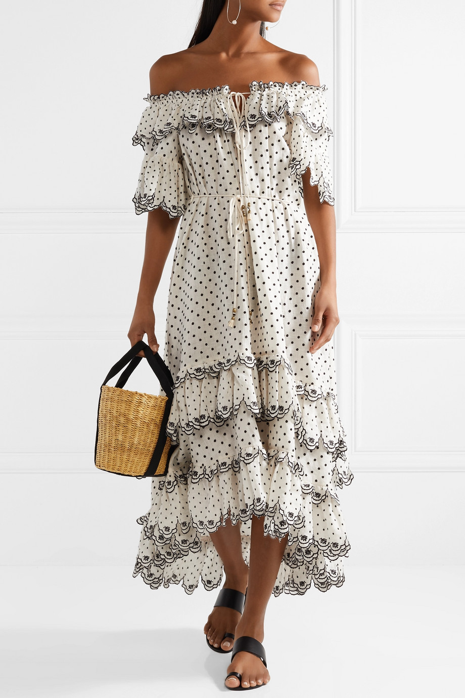 Beachy Off The Shoulder Zimmermann Dress.jpg