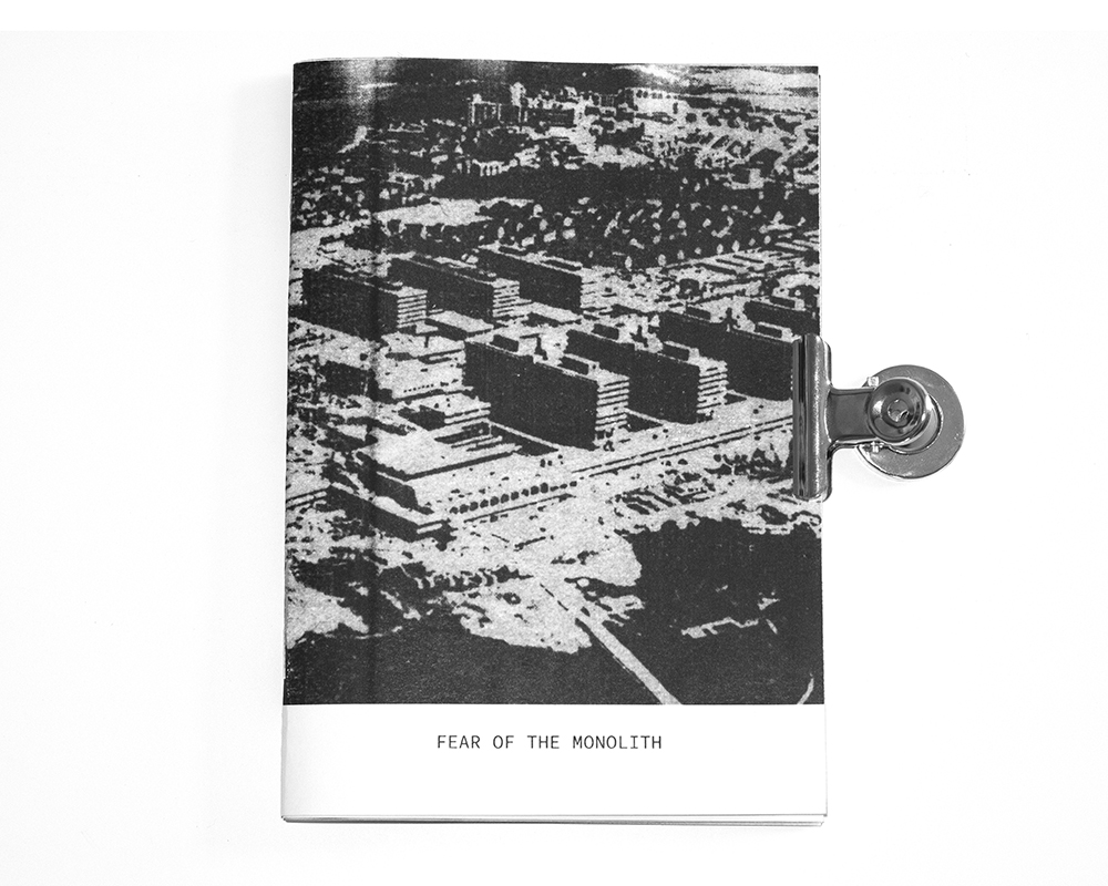 New Zine - Fear Of The Monolith