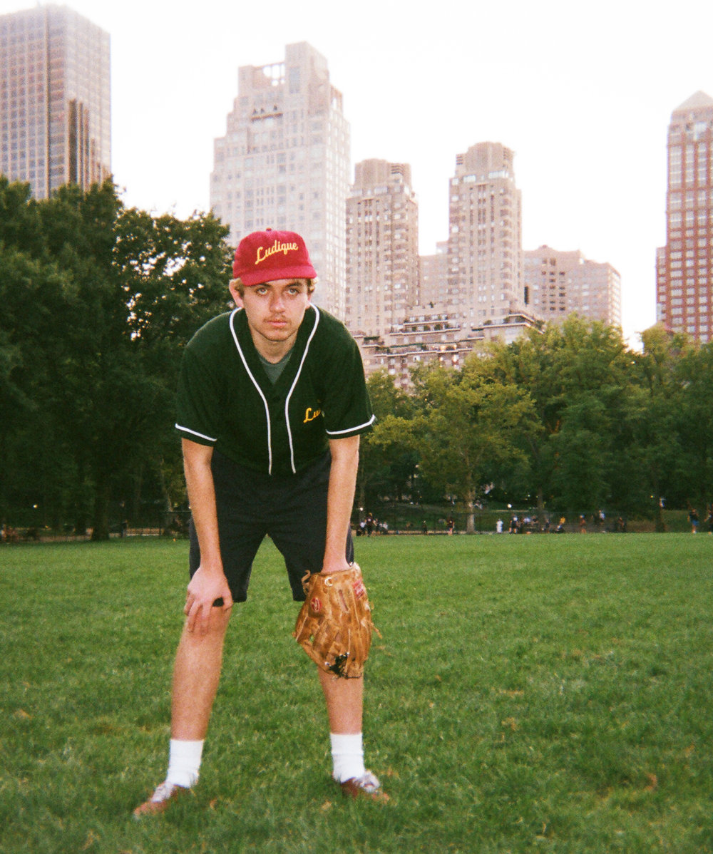 Ludique Spring 2015 - Baseball Jersey Editorial
