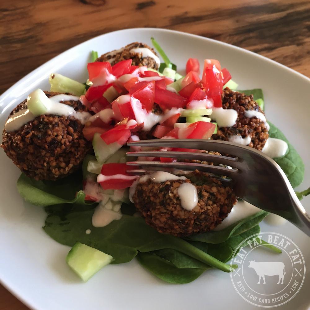 Low-Carb Ketogenic Falafel - Keto Recipes