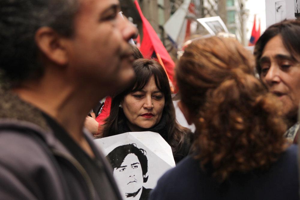 Anniversary of the Coup d'État. Santiago, 11th September 2013