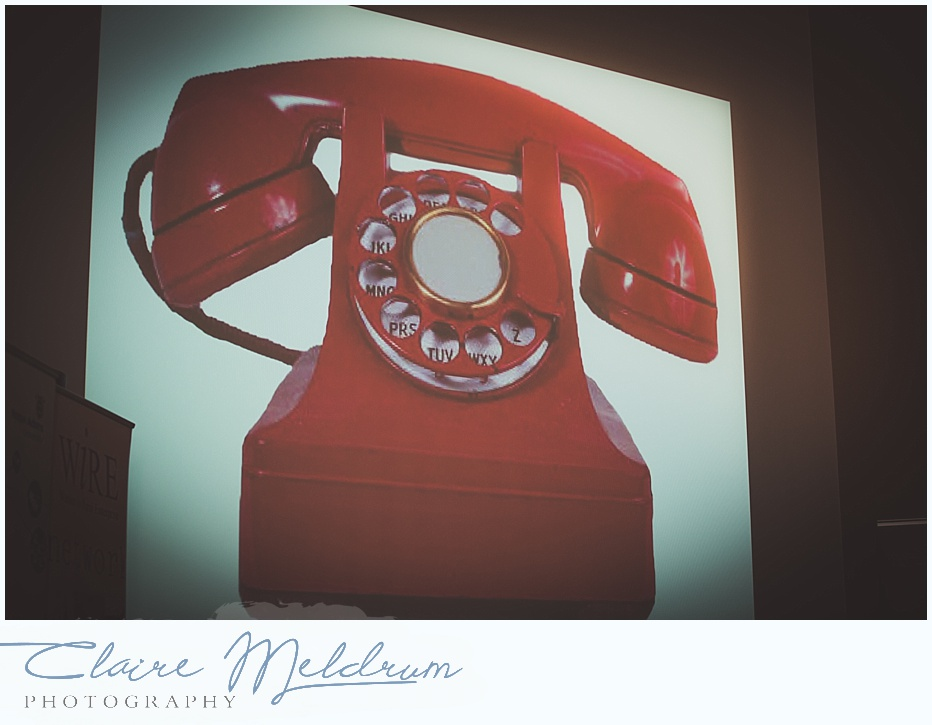 Image of a red telephone - Claire Meldrum Photography