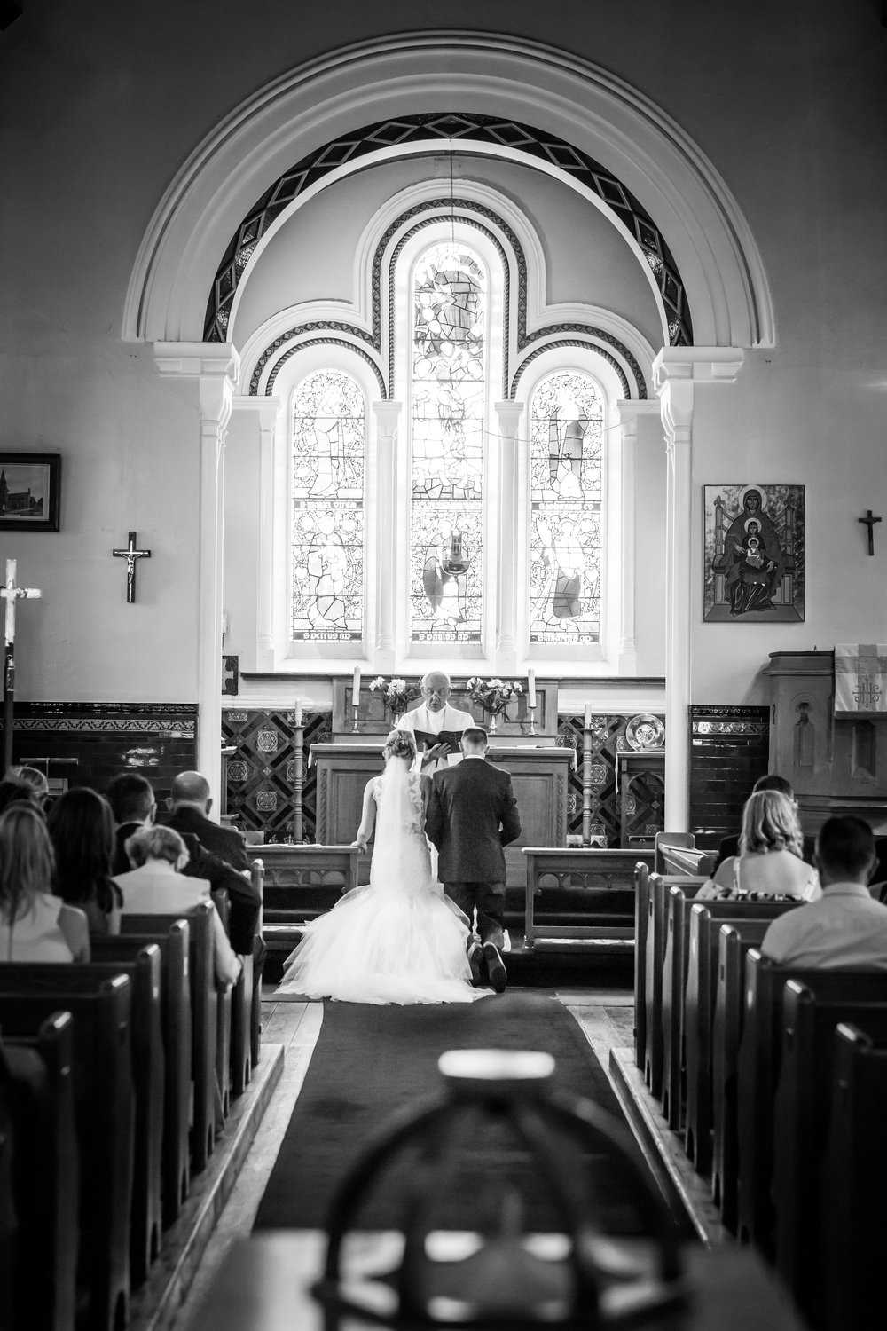 Natural wedding photography Uttoxeter