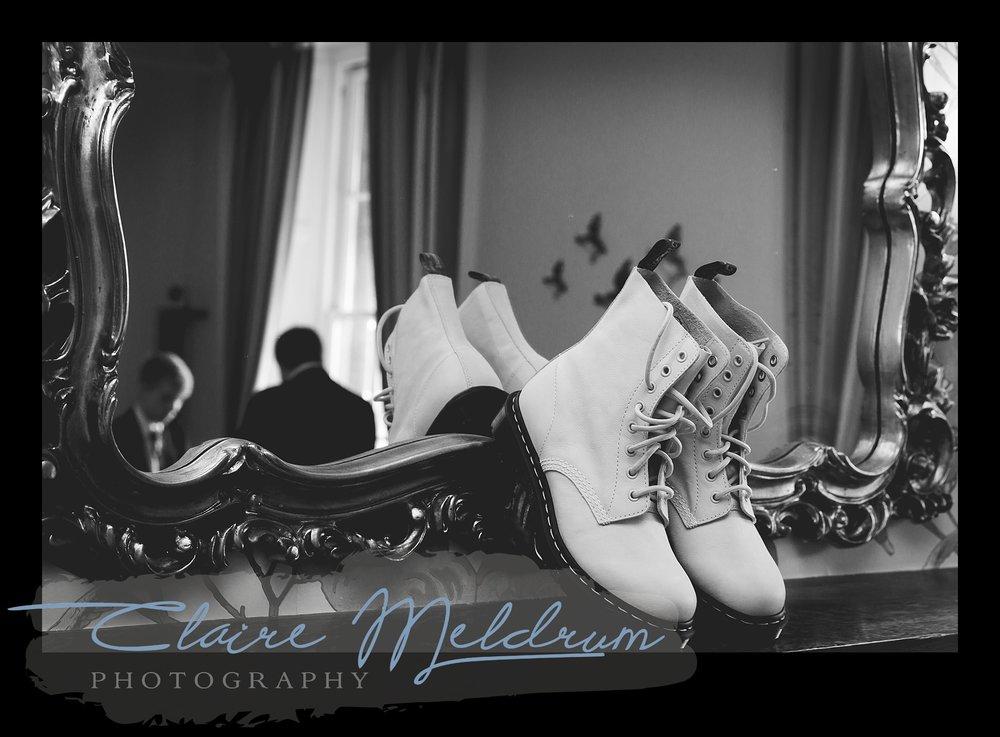 Wedding boots