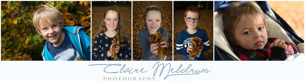 Autumn photoshoots in Staffordshire